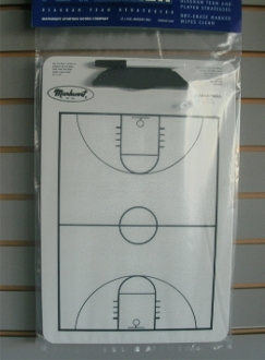 Basketball Dry Erase Player Board