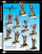 Resin trophy figure Superstars