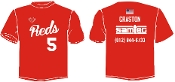 SCLL Reds Player t-shirt