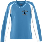 Blacksox Baseball Moisture wicking Augusta Ladies 4650 jersey