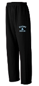 Blacksox Baseball Augusta 5310 Open Bottom Sweatpants
