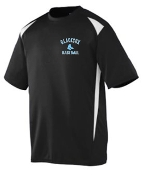Blacksox Baseball Moisture wicking Augusta Mens 1050 jersey