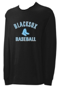 Blacksox Baseball Long sleeve Gildan T shirt