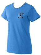 Blacksox Baseball Ladies Cotton T shirt