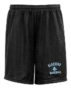 Blacksox Baseball Tricot mesh 7 inch POCKETED shorts