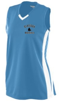 Blacksox Baseball Moisture wicking Augusta Ladies 527 jersey