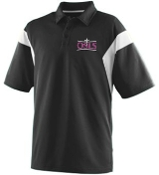 OSLS adult sized mens moisture wicking polo 5075