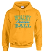 Ascension Volleyball Hoodie with Polka Dots design