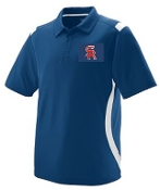 Sports Reach Baseball Mens Polo Augusta 5015