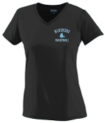 Blacksox Baseball Ladies moisture wicking Tshirt Aug 1790