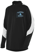 Blacksox Baseball Augusta 4750 Mens 1/2 zip pullover