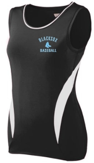 Blacksox Baseball Poly Spandex Augusta Ladies 1288 jersey