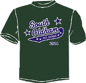 South Oldham All Star Booster/Parent Wicking t-shirt