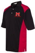 Manual Marching Band polo with embroidered left chest logo