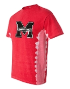 Manual Marching Band Tie Dyed tshirt with full front print