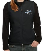 Ballard Volleyball spirit Ladies Fleece Vest L219