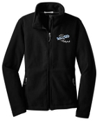 Ballard Volleyball spirit Ladies Fleece full zip jacket L217
