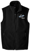 Ballard Volleyball spirit Mens Fleece full zip Vest  F219