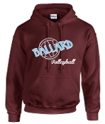 Ballard Volleyball Hoodie with ball G185