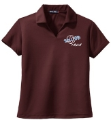 Ballard Volleyball spirit Dri-Mesh Ladies polo L469