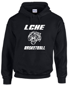 LCHE Tigers Black Hooded sweatshirt G185