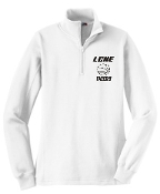 LCHE Tigers Womens 1/4 zip pullover SanMar LST 253