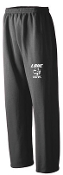 LCHE Tigers Black Open Bottom sweatpants G184
