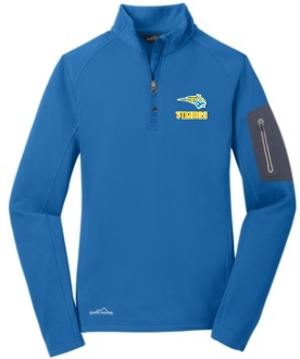 St. Albert spirit Ladies 1/2 zip fleece EB235
