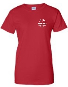 Noe Middle Ladies Red Cotton T shirt G200L
