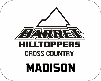 Barret CC Car Magnet with runner name included