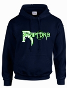 Highview Raptors Navy Hooded sweatshirt 50/50 blend G18500