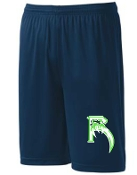 Highview Raptors moisture wicking 9 inch shorts ST355