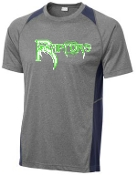 Highview Raptors Heather/Navy Tshirt ST361