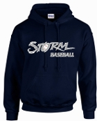 Louisville Storm Navy Hooded Sweatshirt G185