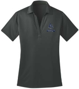 Louisville Storm Womens Light Steel Moisture wicking polo L540