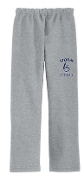 Louisville Storm Sport Gray Open Bottom sweatpants G184