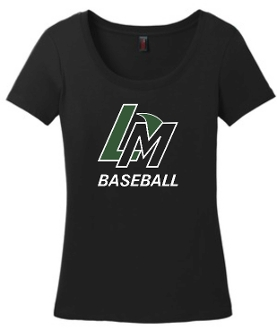 Louisville Makos LM Black Ladies scoop neck DM106L