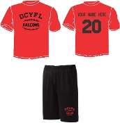 OCYFL Falcons Player pack shirt and shorts ST 350/355