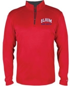 Bloom Elementary Cross Country  adult 1/4 zip moisture mgmt 4102