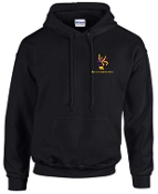 Louisville Youth Orchestra Black Hooded sweatshirt G18500