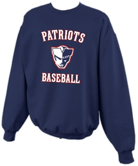 East Patriots Baseball Crewneck sweatshirt