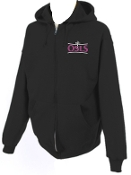 OSLS youth sized zippered hooded sweatshirt 993B