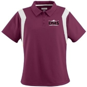 OSLS adult sized womens moisture wicking polo 5076