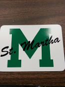 St. Martha Window Decal