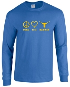 Ascension Spirit Peace Love Long Sleeve Tshirt