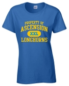 Ascension Spirit Property of Womens cut Tshirt