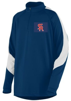 Sports Reach Baseball Mens 1/4 zip Pullover Augusta 4750