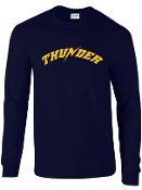 Thunder Baseball long sleeve T shirt