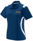 Thunder Baseball Womens Polo Augusta 5016