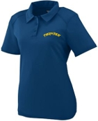 Thunder Baseball Womens Polo Augusta 5002
